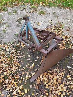 Compact tractor FURROW PLOUGH three point linkage