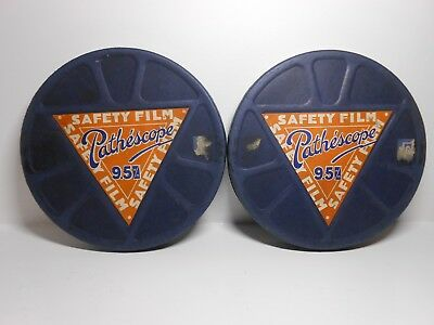 Rare Old Pathescope 9.5 film / Kitty parts 1 and 2 Directed by Victor Saville