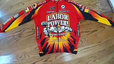 Labor Power Long Sleeve Cycling Jersey Xl