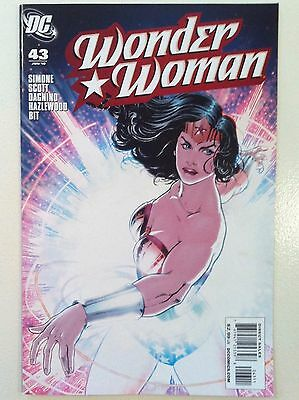 Wonder Woman (2006) #43 Gail Simone Nicola Scott Dc Comics 1St Printing Nm Movie