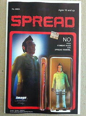 Spread #1 2Nd Printing 'action Figure' Variant Cover Near Mint Justin Jordan