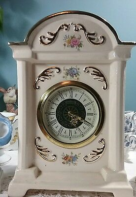 Germany antique Porcelain Clock