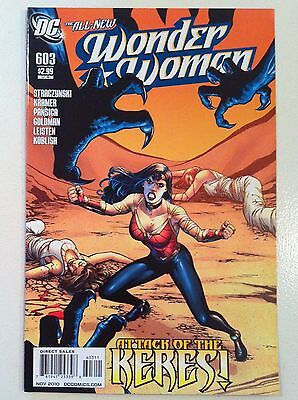Wonder Woman #603 J. Michael Straczynski Don Kramer Dc 1St Printing Vf/nm Movie