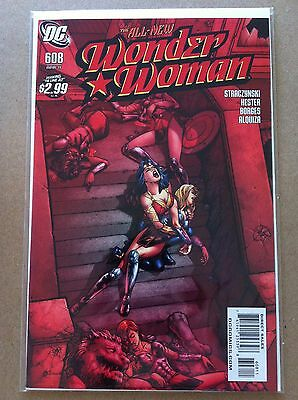 Wonder Woman #608 J. Michael Straczynski Phil Hester Dc 1St Printing Vf/nm Movie