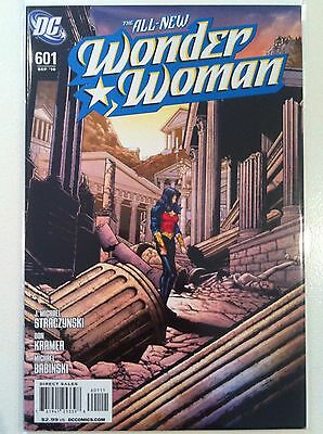 Wonder Woman #601 J. Michael Straczynski Don Kramer Dc 1St Printing Nm Movie