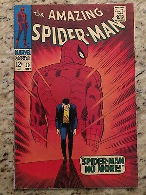 AMAZING SPIDER-MAN #50!  1st Appearance of THE KINGPIN! Beautiful Mid Grade Key!