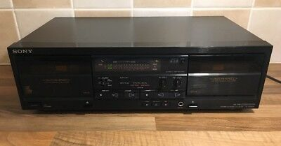 Sony Stereo Cassette Deck - Tc-Wr620 - Tested Working