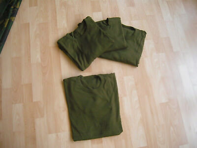 4x VEST olive Chest 102 British Army T-Shirt sas mtp dpm plce virtus tantalus