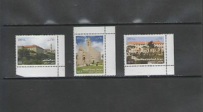 Lebanon: 721-723 / **monasteries**  /  Full Set   / Mnh.