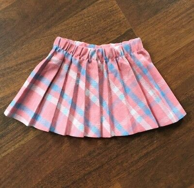 Girls 2T Aileen Girl Pleated Skirt Great Condition Vintage