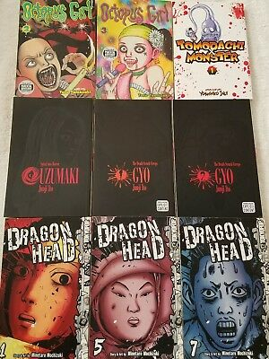 Horror manga lot