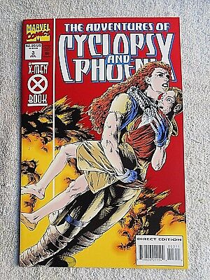 94 The Adventures of Cyclops and Phoenix #3 NM 9.4