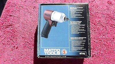 "Matco *new!* 3/8"" Drive Mt2138 ""super Duty"" Impact Wrench In Factory Box!"