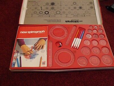 Childrens Vintage Game Spirograph 1960's