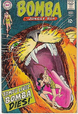Bomba the Jungle Boy #5 (May-Jun 1968, DC)