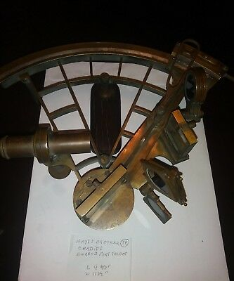 Vintage  Sextant in Nice. condition By. HAYES BROTHER. CARDIFF Barry&Port Talbot