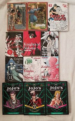 Mixed manga lot