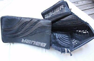 Bauer RX limited edition JR hockey blocker and catcher