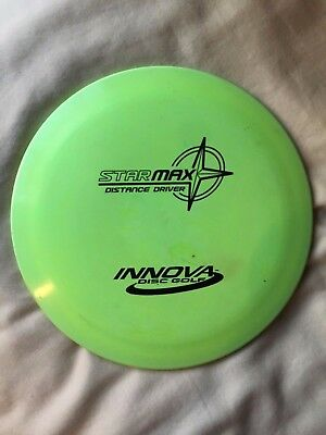 Innova Star Max PFN OOP Patent Numbers 175g Lime Green 9/10