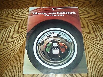 1971 VOLKSWAGEN BEETLE Sales Catalog/Brochure - 24 Full Color Pages - NICE