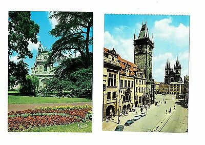 Lot of 14 postcards of churches
