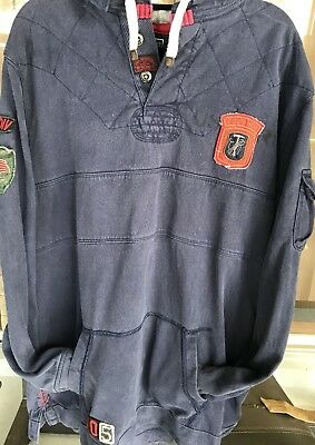 Vtg Ralph Lauren POLO outdoors outfitters with patches Rare! size XXL custom fit