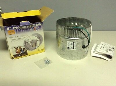 """New Suncourt 6 """" In - Line Duct Fan In Original Box Save On Your Utility Bills"""