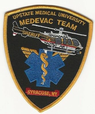 Onondaga County Sheriff Aviation Upstate Medevac Univ Syracuse NY patch