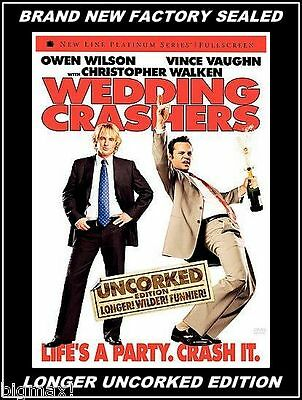 BRAND NEW FACTORY SEALED WEDDING CRASHERS DVD UNCORKED EDITION Free S&H LAST ONE