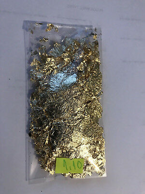 1.10 Grams Of Gold Leaf/Flakes .999
