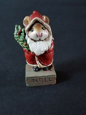 Wee Forest Folk: M164, Father Christmas