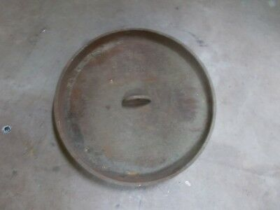 12 In. Dutch Oven cast iron lid    lid only