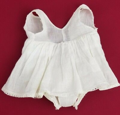 Vintage Shirley Temple Composition Doll Original White Slip 1930's Nice!