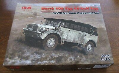 Horch 108 Typ 40 Soft Top - 1/35 Scale