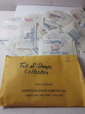 Unused Postage Stamp Collection Estate Find Mint Jamestown Ny Stamps Lot!