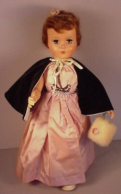 "1950's R & B Arranbee 17"" Doll hard plastic  in vintage fashions clothing"