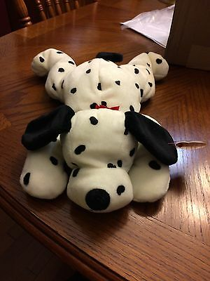 Spotty The Dalmation Beanie Baby Pillow Pal!  New, Never Displayed! Nice!