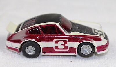 Aurora AFX Porsche 911 Carrera #3 HO Scale Slot Car - SEE OTHER VINTAGE CARS TOO