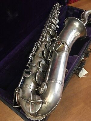 Buescher C Melody Low Pitch True Tone,Neck Mouthpiece, Case, Collectors REDUCED!