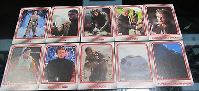 Star Wars Journey To The Last Jedi Parallel Lot And Box Black Red Silver