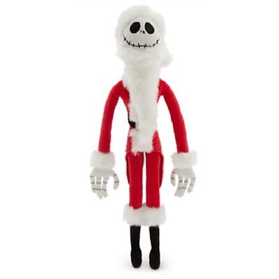 Disney The Nightmare Before Christmas Jack Skellington Soft Plush Sandy Claws