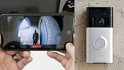 Ring Security Video Smart Doorbell WiFi CCTV Security Camera