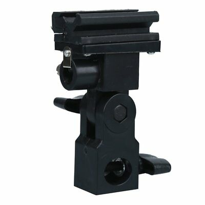Flash Hot Shoe Adapter Umbrella Holder Swivel Light Stand Box Bracket B Type