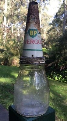 BP Energol Pint Oil Bottle