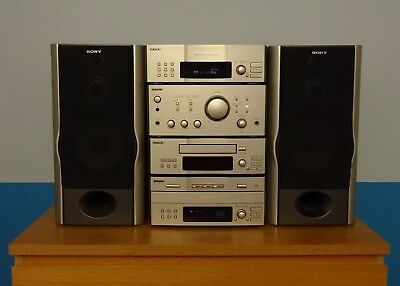 SONY Hifi Separates with matching SONY speakers
