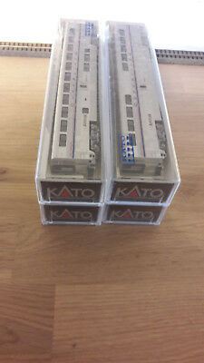 ** US ** 4x Superliner cars / Kato