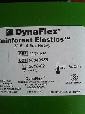 "Vorgepackte Elastics LATEXFREI 3/16"", 4,5 oz heavy, 50 x 100 St.  - Made in USA"
