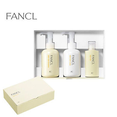 FANCL JAPAN Baby Gift Set Shampoo, Wash, Milk Import