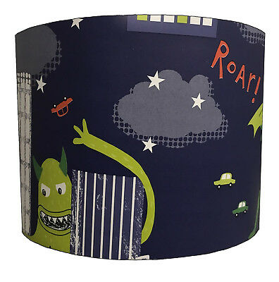 Lampshade Ideal 2 Match Monster Wallpaper, Monster Duvets & Monster Quilt Covers