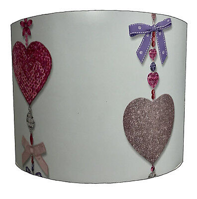 Lampshades Ideal To Match Hearts & Bows Duvet Cover & Hearts & Bows Quilt Covers